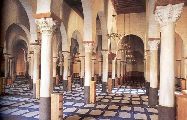 Kairouan-Mosque-Prayer-Hall