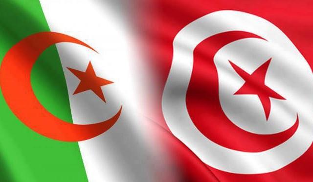 2015-02-08.19.علم-تونس-والجزائر،-علم-الجزائر-وتونس