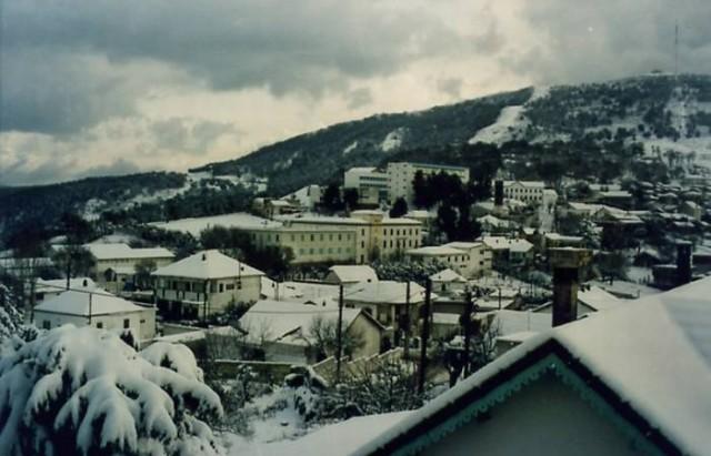 السياحة الجبلية في الشتاء