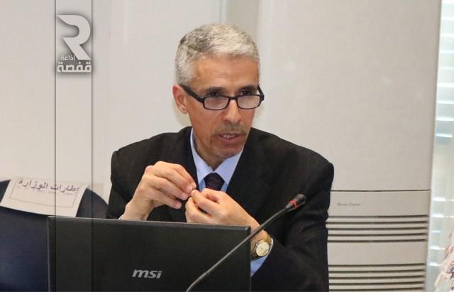 عمر-الولباني-مدير-عام-الامتحانات_وزارة-التربية_ندوة-صحفية-640x411