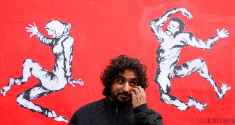 مراد سبيع الفنان اليمني في باريس